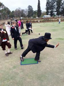 Cordwalles and Wykeham Collegiate - annual Victorian Bowls and Croquet day 2017 2